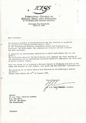 JC Sier letter