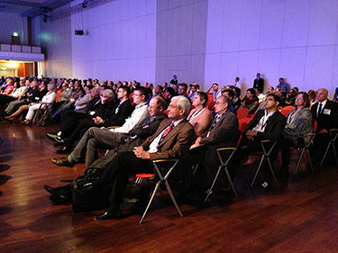 Audience listening to Neuromodulation Congress