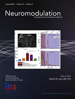 neuromodulation journal cover